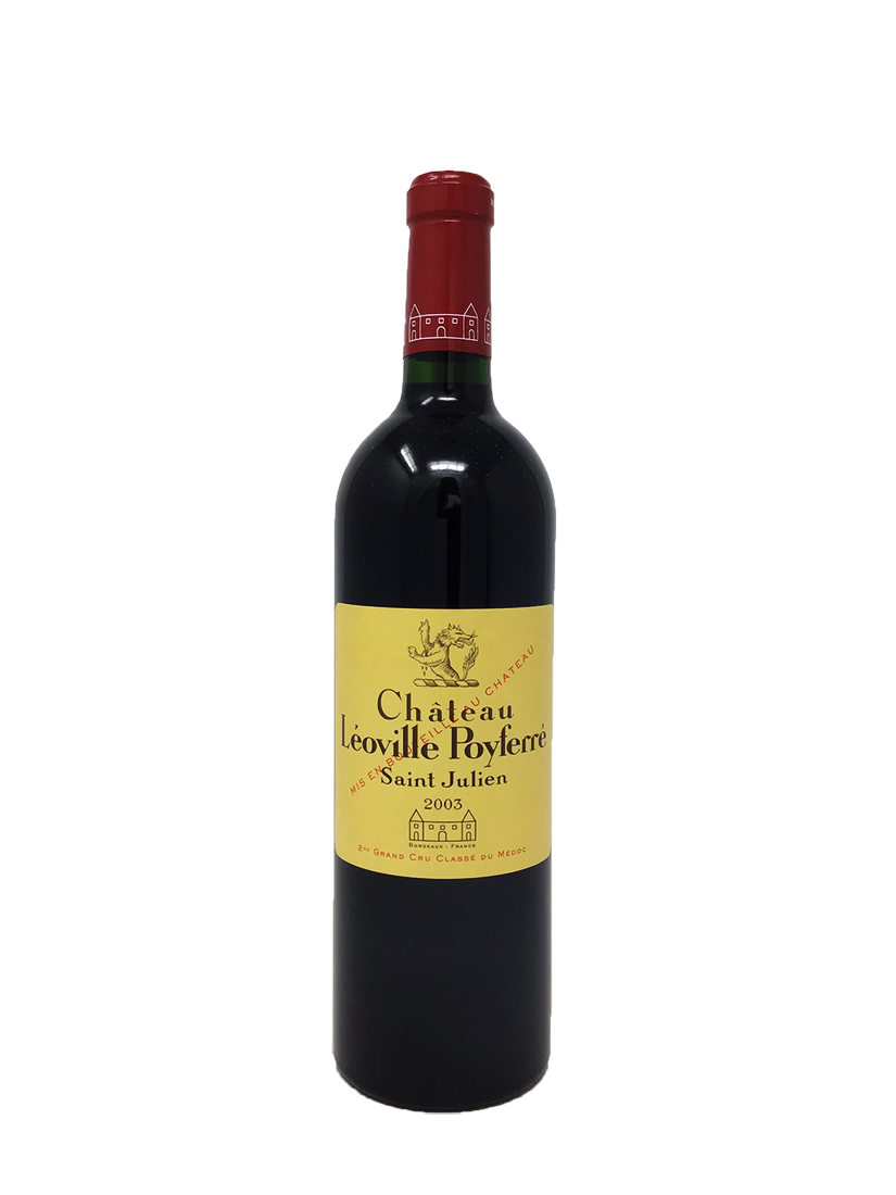 Leoville Poyferre Bordeaux Red 2003