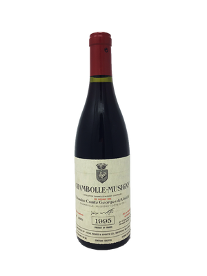 Domaine Comte Georges de Vogue Chambolle-Musigny Burgundy Red 1995