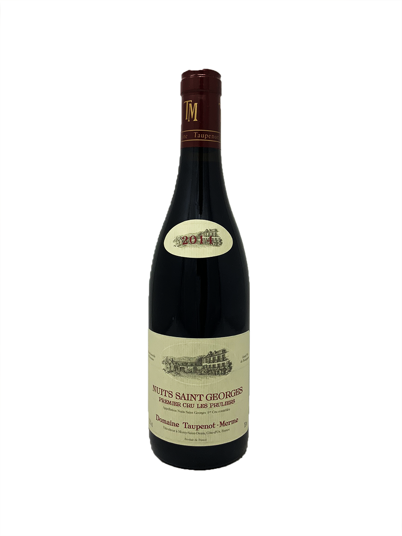 Domaine Taupenot-Merme Nuits St. Georges Les Pruliers 1er Cru Burgundy Red 2014
