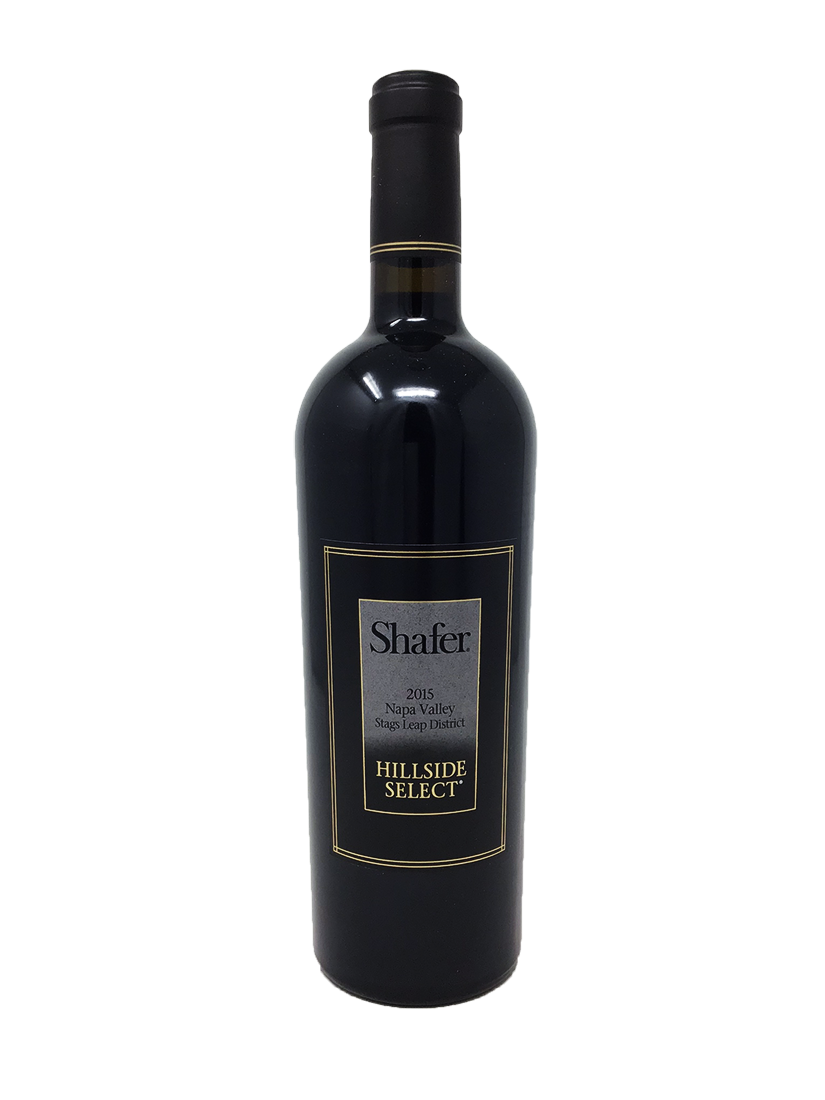 Shafer Hillside Select Cabernet and Blends 2015