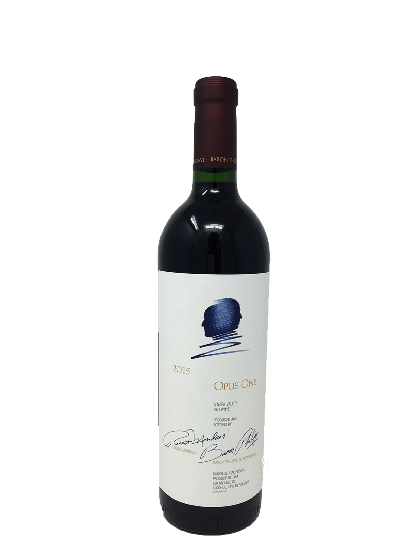 Opus One Napa Valley Cabernet and Blends 2015