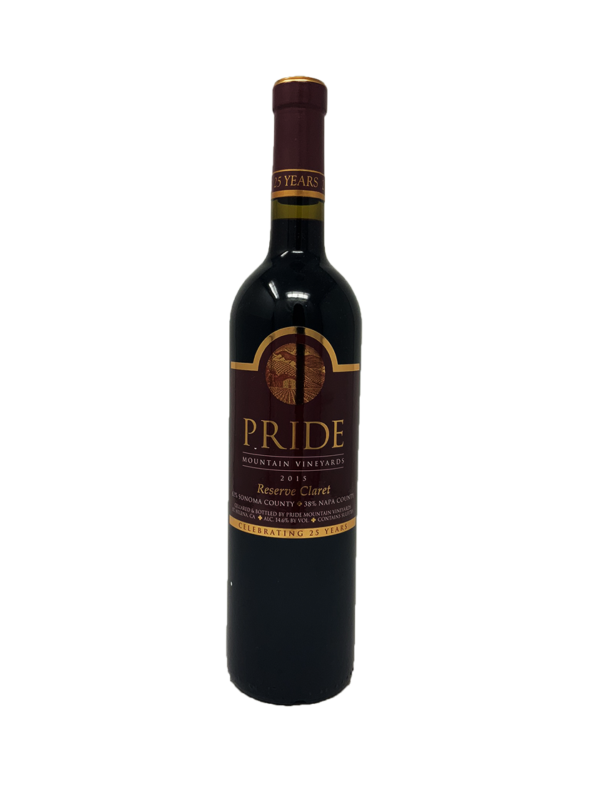 Pride Reserve Claret Cabernet and Blends 2015