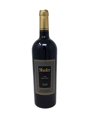 Shafer TD-9 Cabernet and Blends 2016