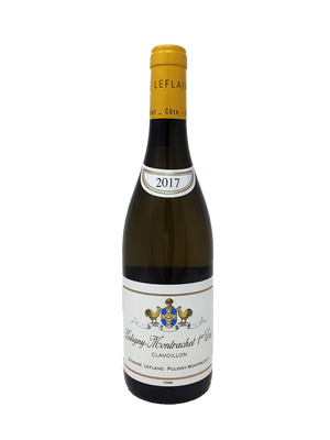 Domaine Leflaive Puligny-Montrachet Clavoillon Burgundy White 2017
