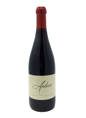 Aubert, Ritchie Vineyard, Vineyard, Sonoma Coast, Pinot Noir 2012