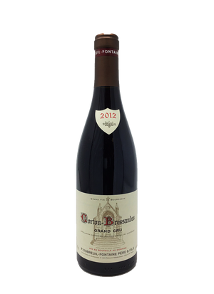 P. Dubreuil-Fontaine Pere et Fils, Corton-Bressandes, Grand Cru  Burgundy Red 2012