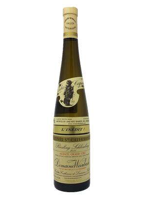 Domaine Weinbach, Riesling, Schlossberg, Cuvee St Catherine, l'Inedit Alsace Alsatian 2011