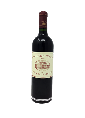 Margaux Pavillon Rouge Bordeaux Red 2005