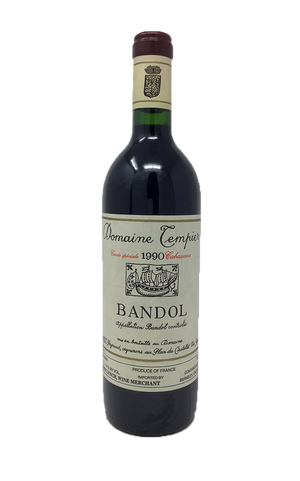 Domaine Tempier Bandol Cabassaou Southern France 1990