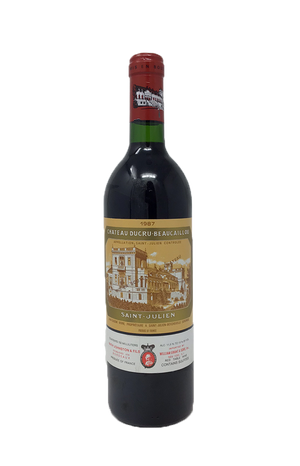 Ducru Beaucaillou Bordeaux Red 1987
