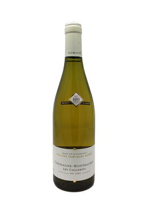 Jean-Marc Morey, Chassagne-Montrachet, Caillerets Burgundy White 2011