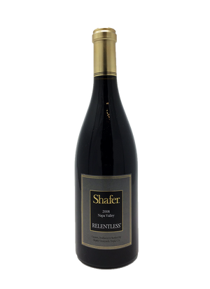 Shafer Relentless CA Rhone Rangers & Petite Syrah 2008