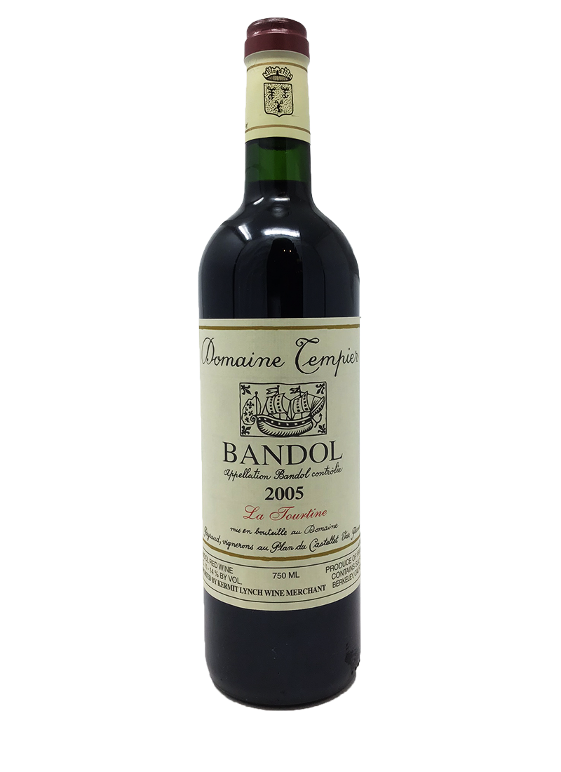 Domaine Tempier Bandol la Tourtine Southern France 2005