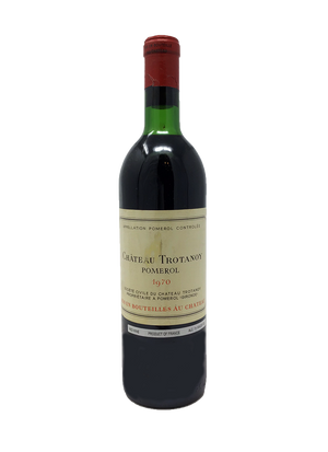 Trotanoy Bordeaux Red 1970