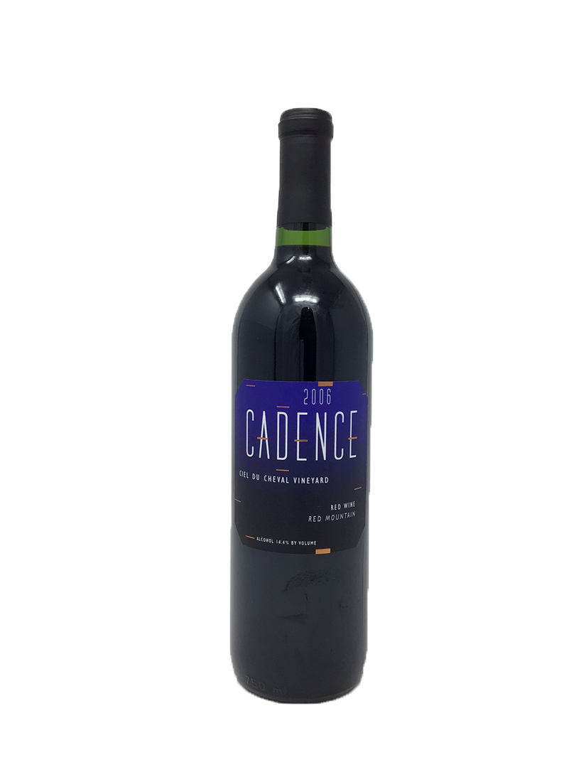 Cadence Ciel du Cheval Vineyard Cabernet and Blends 2006