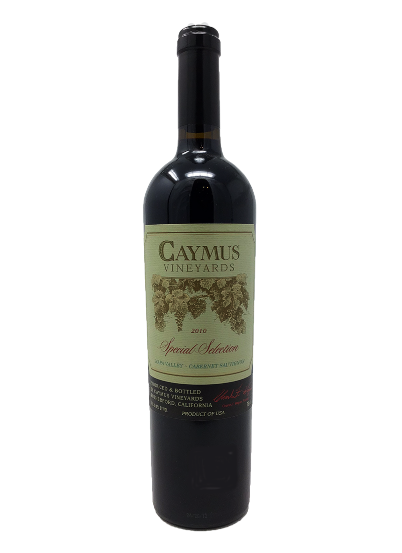 Caymus Special Selection Cabernet and Blends 2010