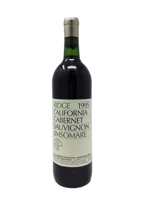 Ridge Jimsomare Cabernet and Blends 1995