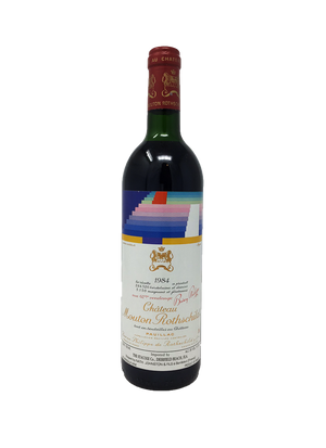 Mouton Rothschild Bordeaux Red 1984