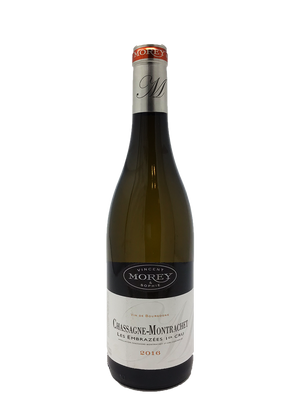 Domaine Vincent and Sophie Morey Chassagne-Montrachet Les Embrazees Burgundy White 2016