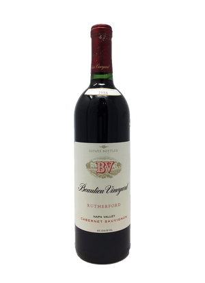 Beaulieu Rutherford Napa Valley Cabernet and Blends 1988