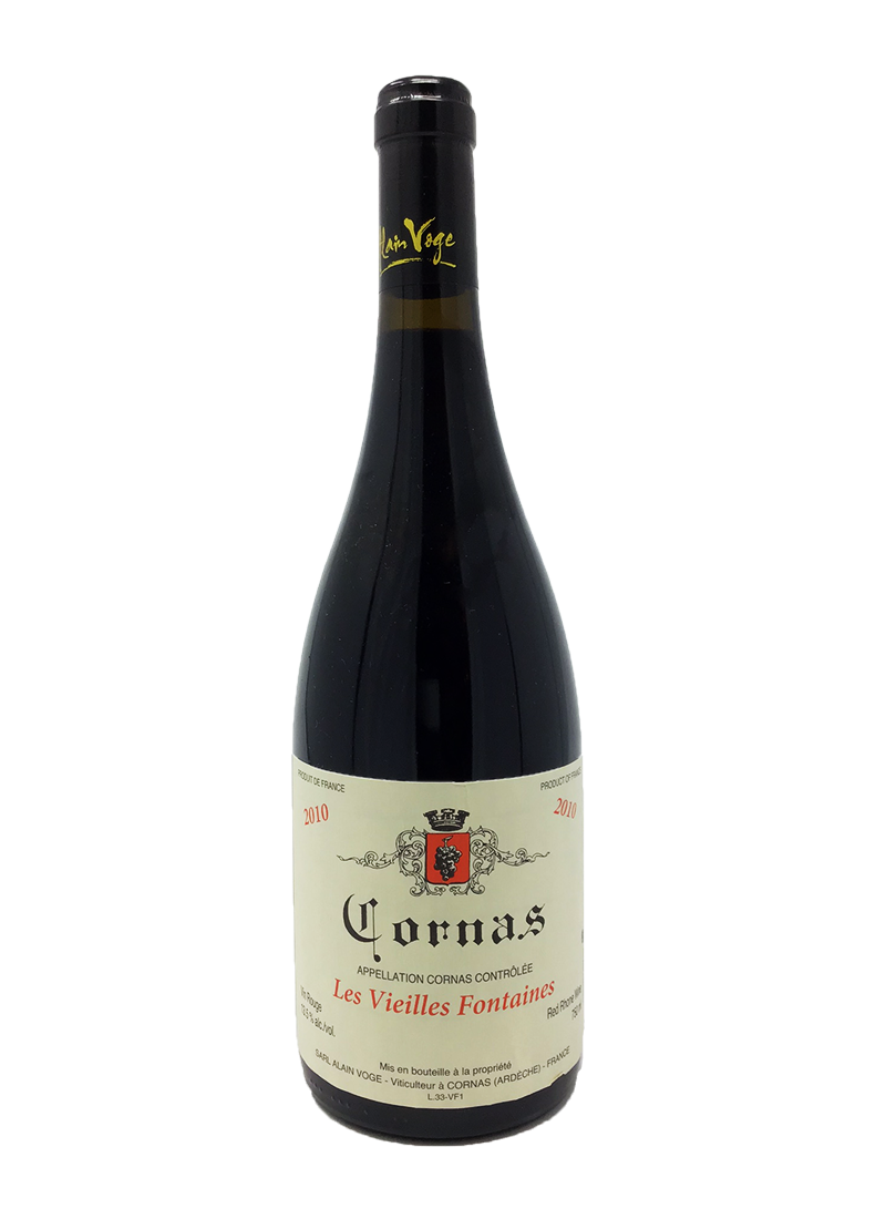 Alain Voge Cornas Vieilles Fontaines Rhone Red 2010