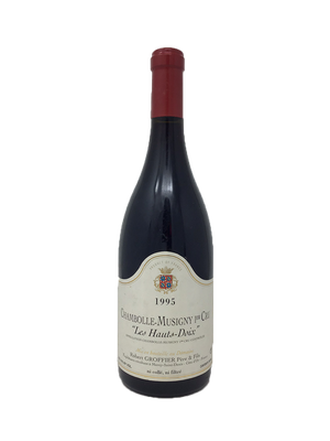 Domaine Robert Groffier Chambolle-Musigny 1er Cru Les Hauts-Doix Burgundy Red 1995