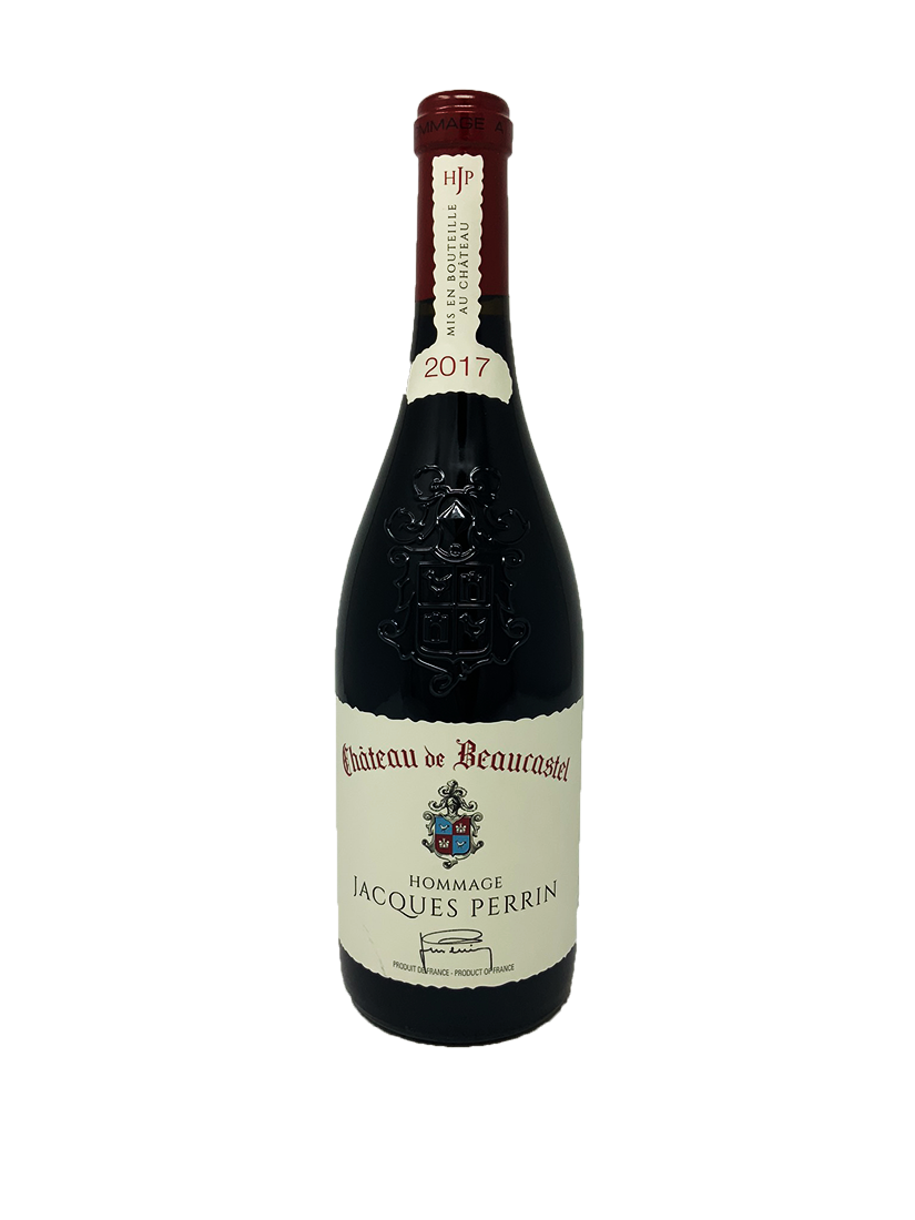 Chateau de Beaucastel Chateauneuf du Pape Hommage a Jacques Perrin Rhone Red 2017