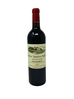 Troplong Mondot Bordeaux Red 2005