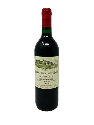 Troplong Mondot Bordeaux Red 1989