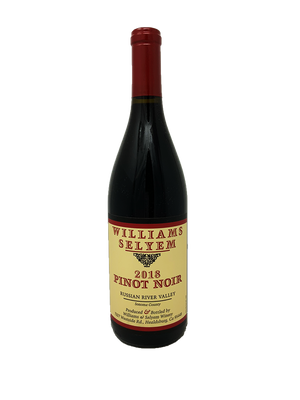 Williams Selyem Russian River Pinot Noir 2018