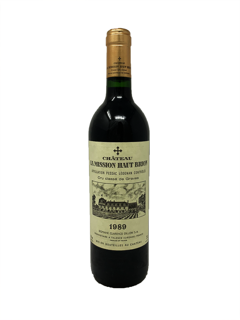 La Mission Haut-Brion Bordeaux Red 1989