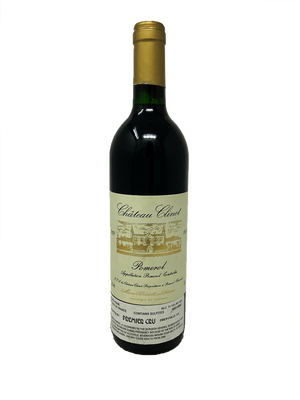 Clinet Bordeaux Red 1989