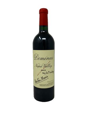Dominus Estate Napa Valley Cabernet and Blends 2003