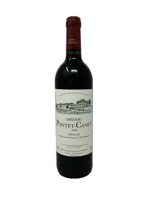 Pontet-Canet Bordeaux Red 2003
