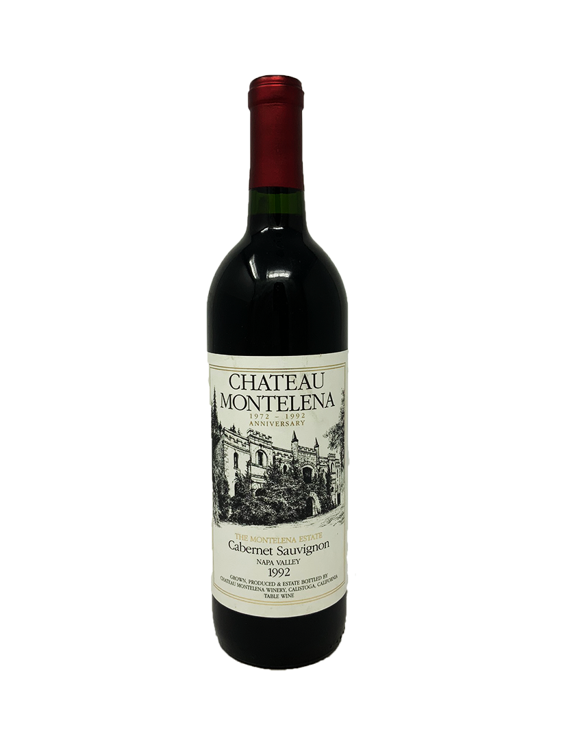 Chateau Montelena Estate Cabernet Sauvignon Cabernet and Blends 1992