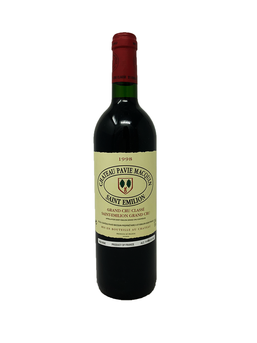 Pavie Macquin Bordeaux Red 1998