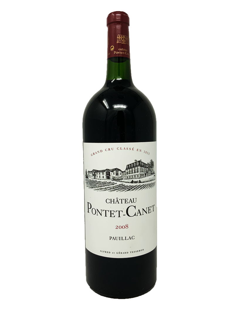 Pontet-Canet Bordeaux Red 2008 1.5 L