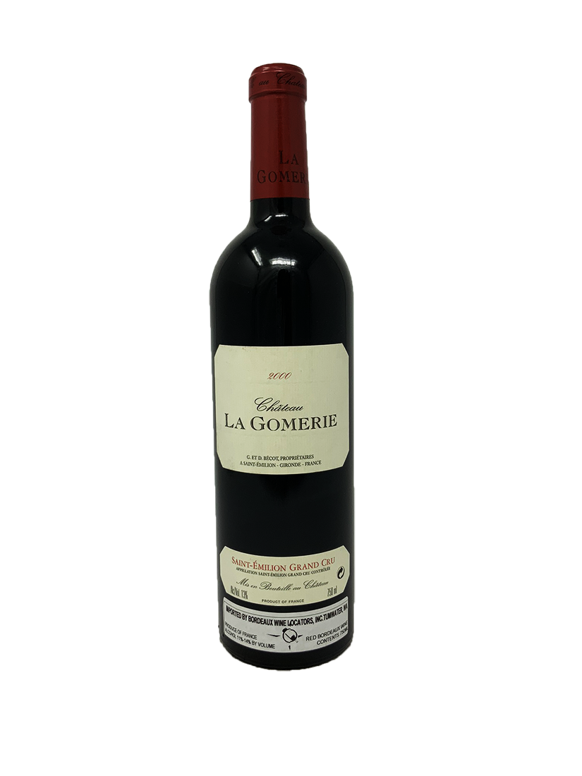 La Gomerie Bordeaux Red 2000
