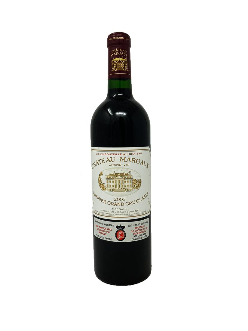 Chateau Margaux Bordeaux Red 2003