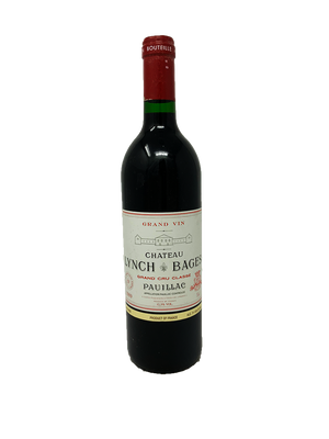 Lynch-Bages Bordeaux Red 1989