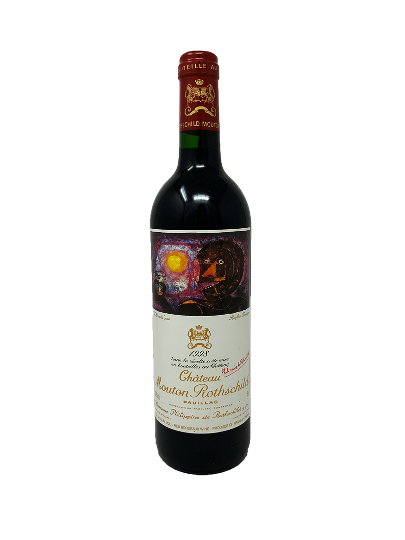Mouton Rothschild Bordeaux Red 1998