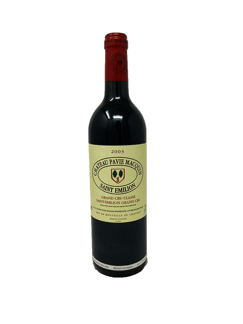 Pavie Macquin Bordeaux Red 2003