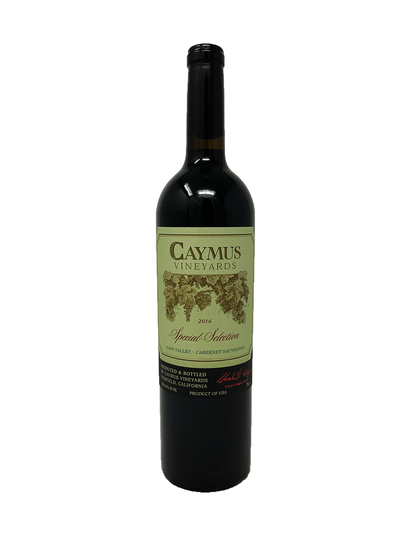 Caymus Special Selection Cabernet and Blends 2016