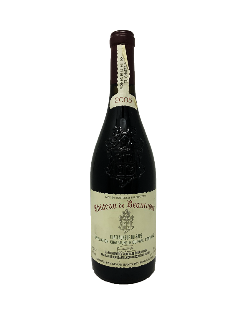 Beaucastel Chateauneuf du Pape Rhone Red 2005