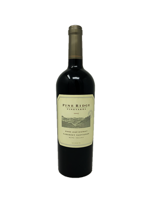 Pine Ridge Vineyards Stags Leap District Cabernet Sauvignon Cabernet and Blends 2007