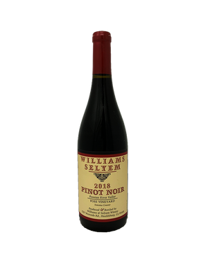 Williams Selyem Foss Vineyard Pinot Noir 2018