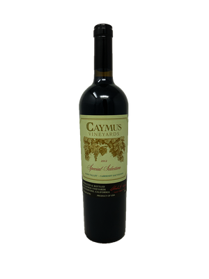 Caymus Special Selection Cabernet and Blends 2012