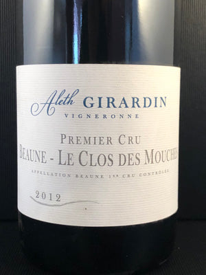 Aleth Girardin Beaune Mouches, 1er Burgundy Red 2007