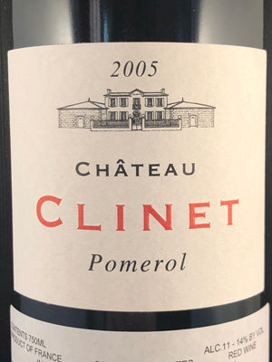 Clinet Bordeaux Red 2005