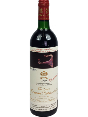 Mouton Rothschild Bordeaux Red 1990